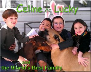 Celine and Lucky and the World's Best Family